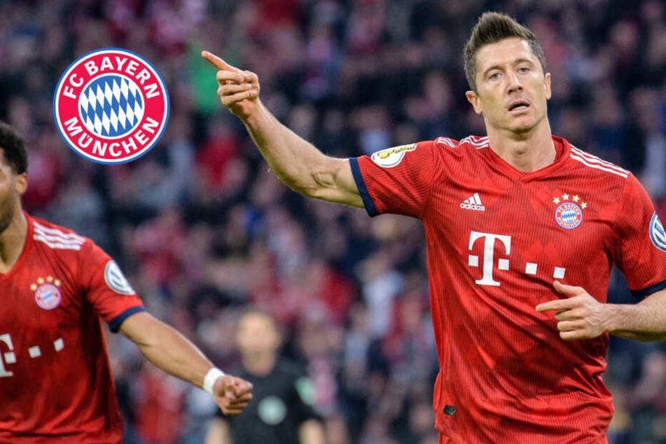 Neun Tore! Bayern schafft es nur knapp gegen Heidenheim ins Pokal-Halbfinale