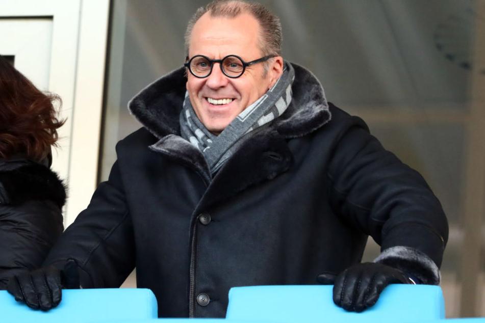 Insolvenzverwalter Klaus Siemon gründete zusammen mit einem Investor die Chemnitzer FC Fußball GmbH.