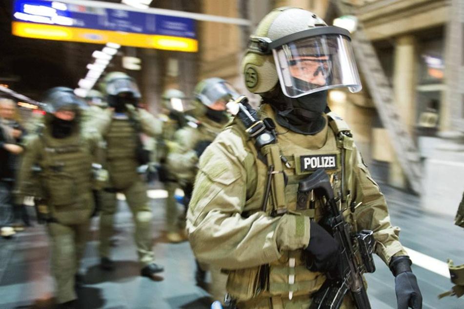 Polizisten der Anti-Terror-Einheit GSG9.