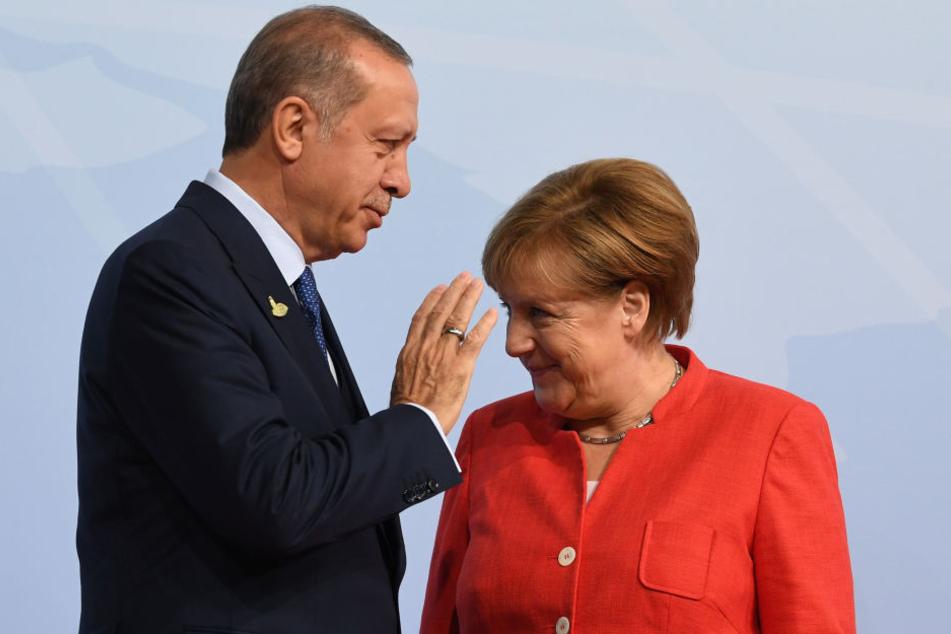 Angela Merkel kommt nicht zum Staatsbankett für den türkischen Präsidenten Erdogan.