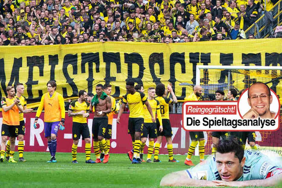 Spannung vor direktem Duell: Bayern überholt! Darum hat BVB die besseren Karten