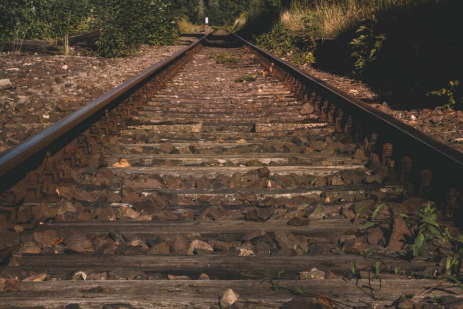 Die Irrfahrt der jungen Frau endete schließlich im Gleisbett (Symbolbild).