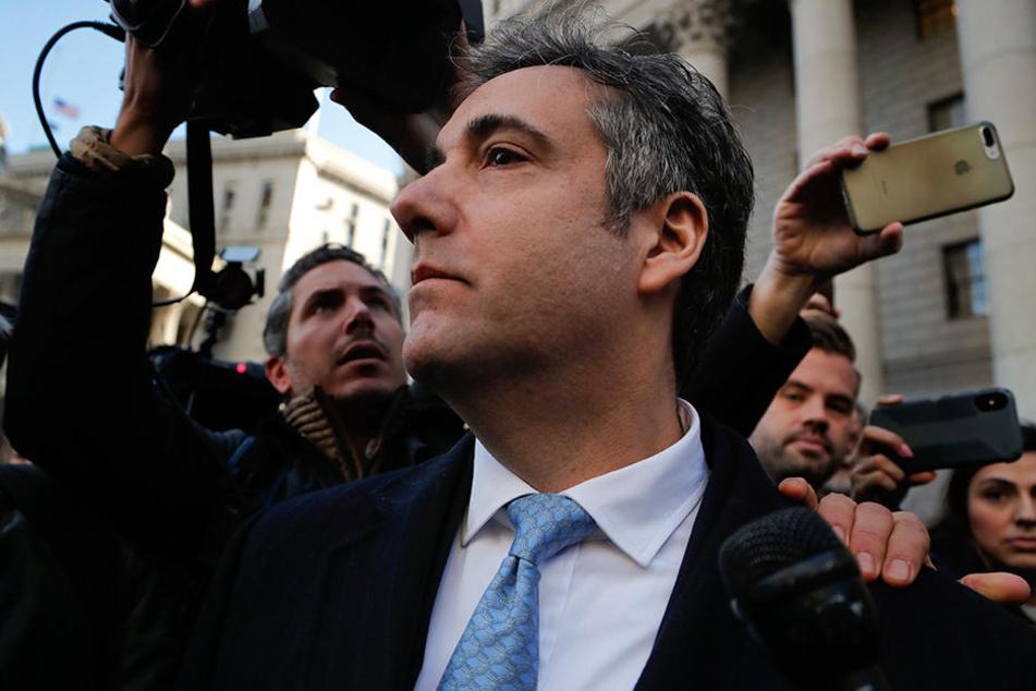 Michael Cohen soll nach Auffassung der Staatsanwalt für längere Zeit ins Gefängnis.