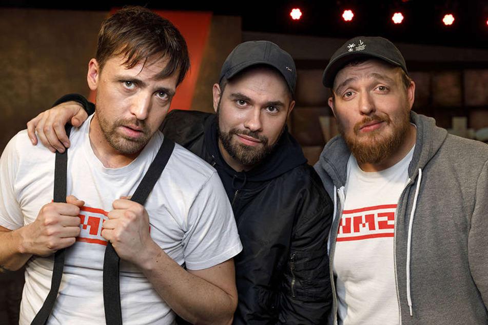 """Die Antilopen-Gang kommen mit altbekannten Songs wie """"Enkeltrick"""" und """"Verliebt"""" nach Bielefeld."""