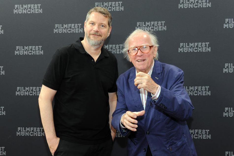 Regisseur Andreas Prochaska (l) und Musiker Klaus Doldinger.