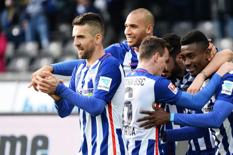 Hertha BSC bekommt ab jetzt die volle Aufmerksamkeit von Ibisevic und Kalou.