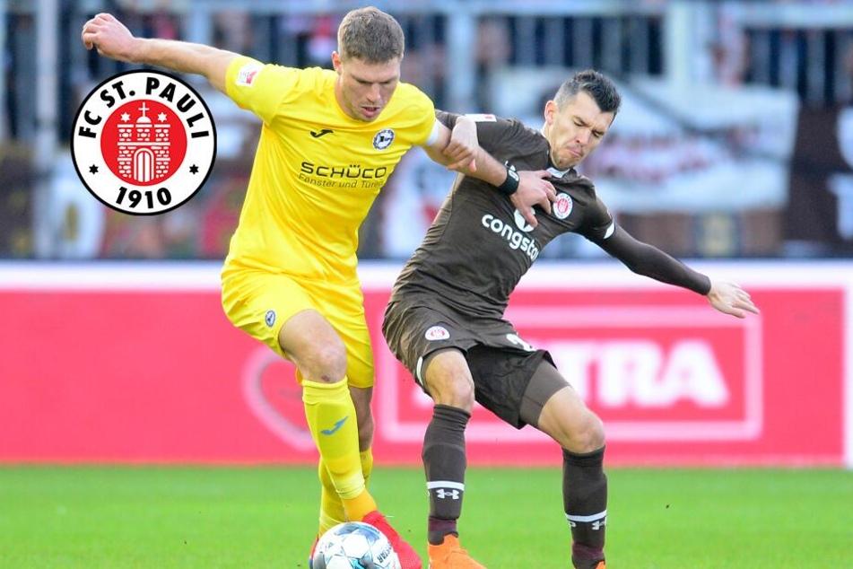 St. Pauli kassiert Last-Minute-Pleite gegen Tabellenführer Bielefeld