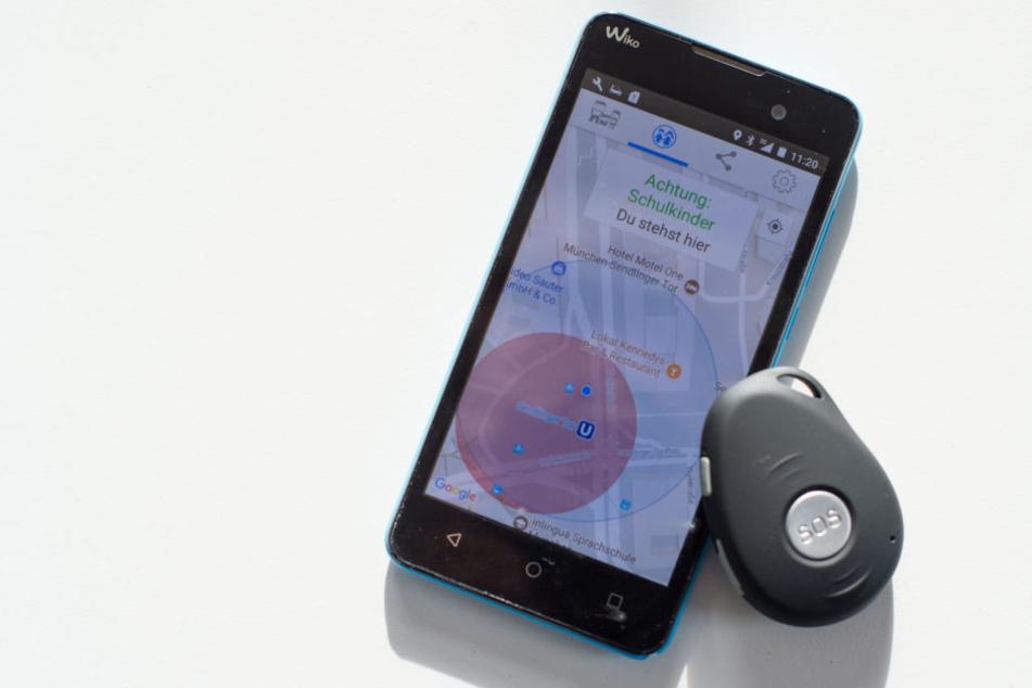 Mittels dieser App können Eltern jederzeit nachschauen, wo sich ihr Kind befindet. Mehr Sicherheit oder mehr Kontrolle?