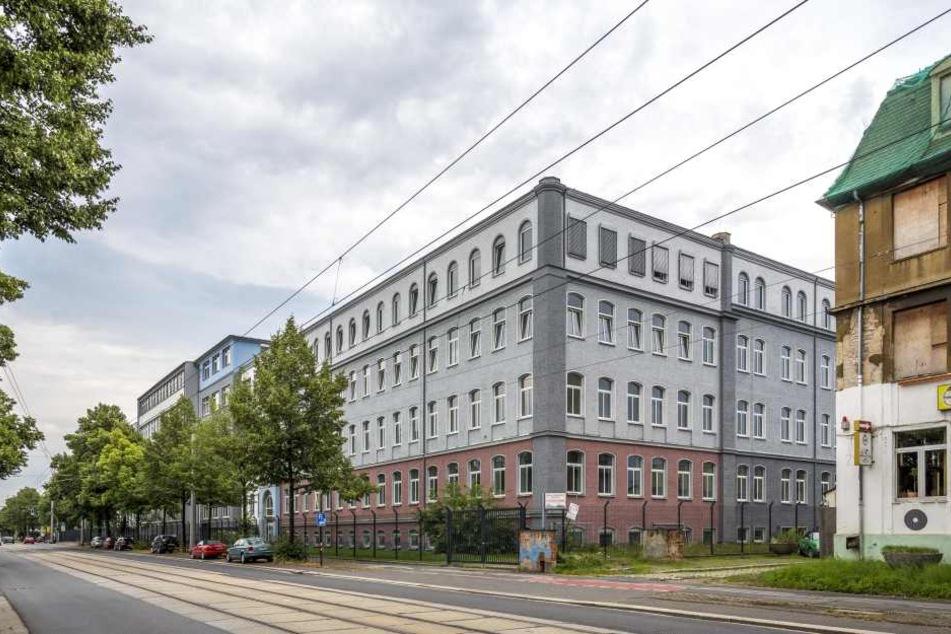 Im Technischen Rathaus in Dresden entstehen sowohl Ausreisegewahrsam als auch  Abschiebehaft.