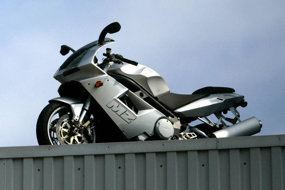 Ein MZ-Motorrad war in Thüringen in einen schweren Unfall verwickelt.