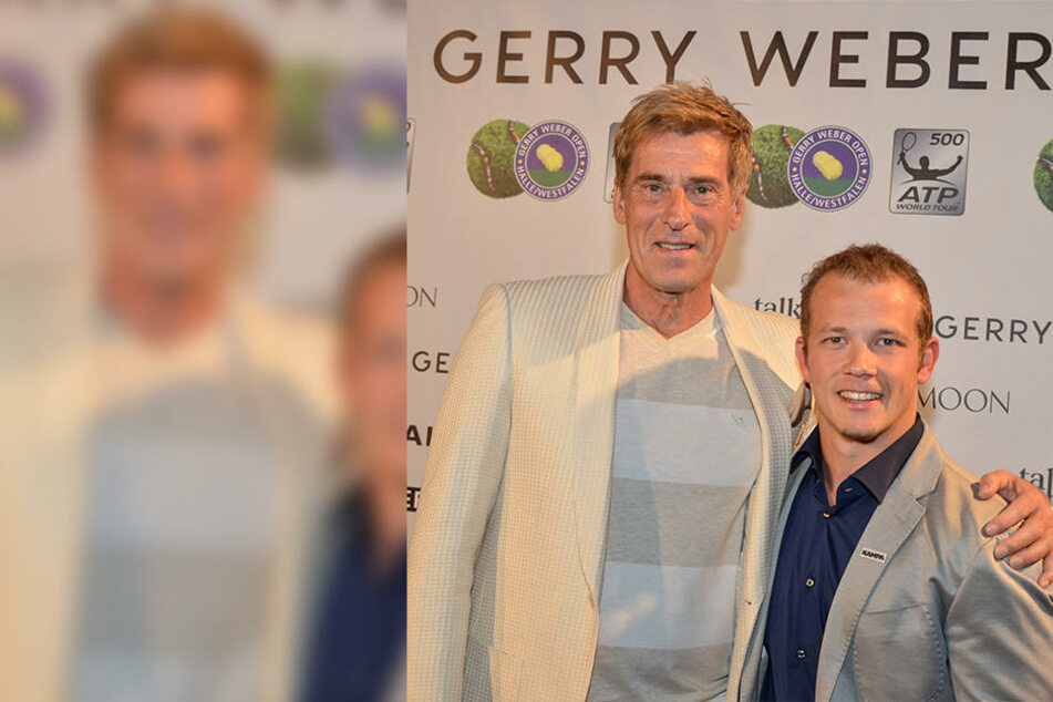 Zu Gast bei der Gerry Weber Open Fashion Night waren auch Ex-Nationaltorhüter Uli Stein (links) und Turn-Olympiasieger Fabian Hambüchen.