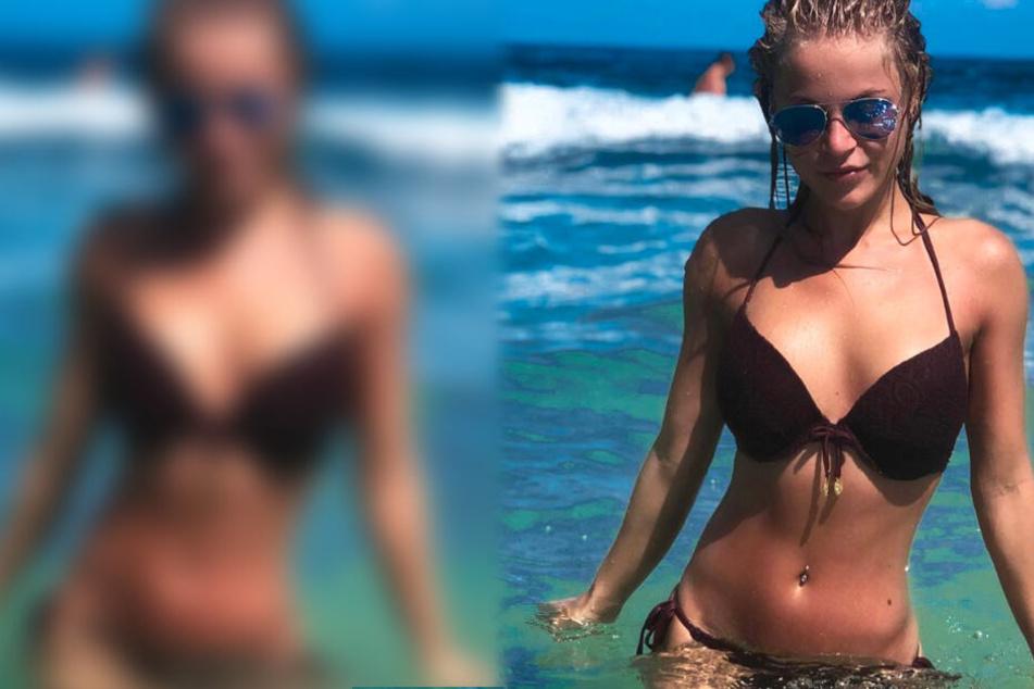 Schulbegleiterin Michelle Schellhaas weiß sich auf Instagram sexy zu präsentieren.
