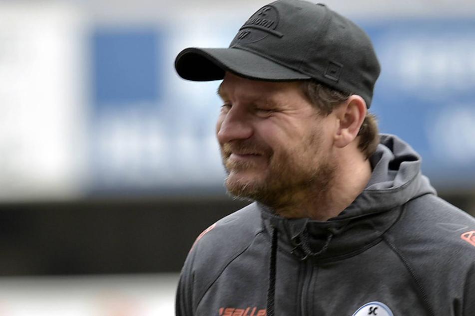 Steffen Baumgart hält den 1. FC Magdeburg für eine sehr kompakte Mannschaft.