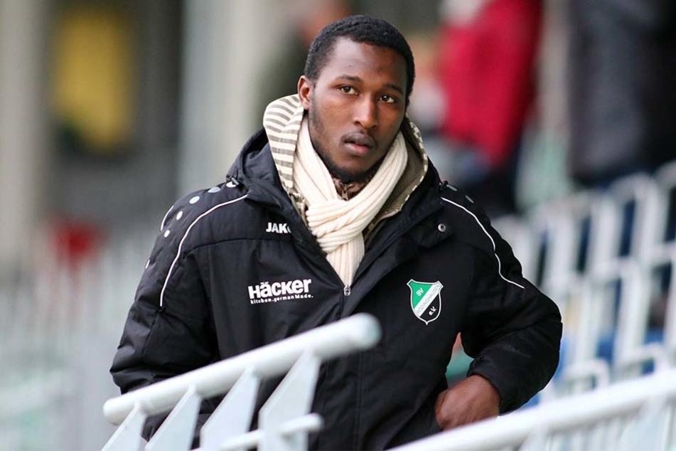 2016 spielte Cellou Diallo für den SV Rödinghausen. Ein Wechsel zum BVB scheiterte.