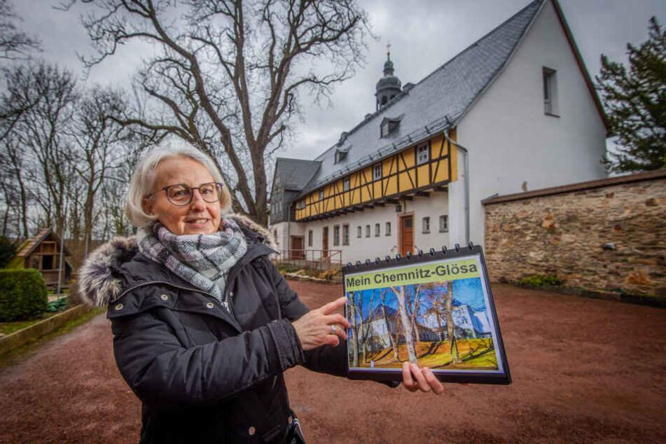 Die Glösaerin Ramona Wagner (62) führt ab 13.30 Uhr durch ihren eigenen Stadtteil.