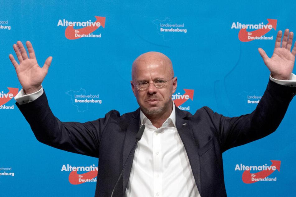 Andreas Kalbitz (46), Landesvorsitzender der AfD in Brandenburg.