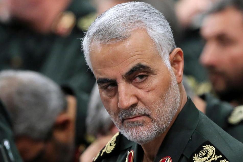General Ghassem Soleimani im Oktober 2016 in Teheran.