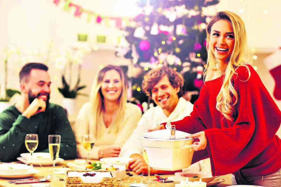 Das Essen schmeckt gleich doppelt so gut, wenn der Tisch auch festlich dekoriert ist.
