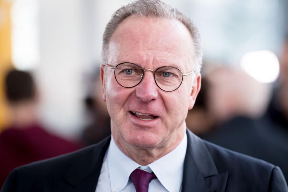 Karl-Heinz Rummenigge hatte die TV-Übertragungsrechte der CL kritisiert. (Archivbild)