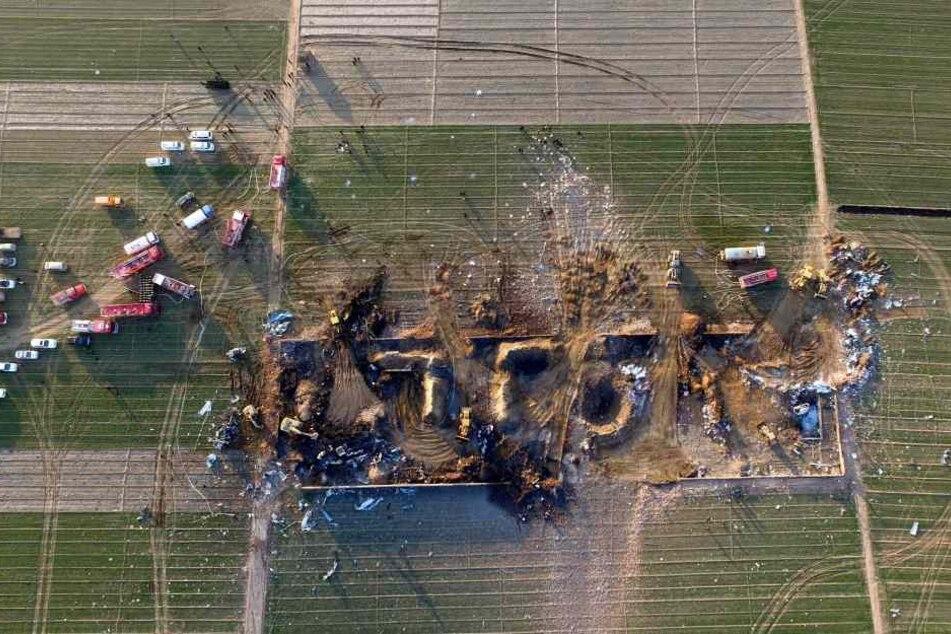 Bereits im Januar explodierte eine Feuerwerksfabrik in China.