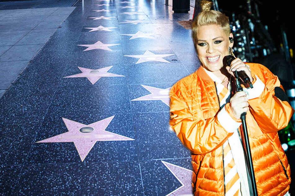 """Popstar Pink wird auf """"Walk of Fame"""" geehrt!"""