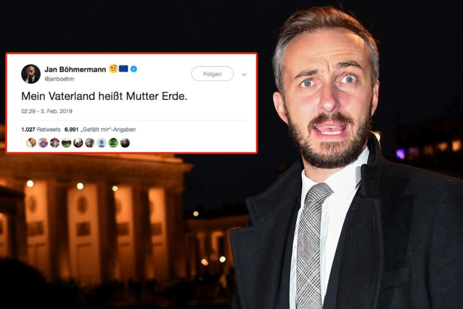 Jan Böhmermann (37) tut sich schwer mit dem Patriotismus hierzulande.