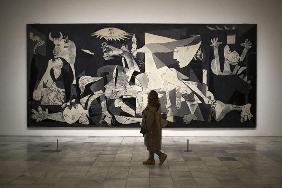 """Das Gemälde """"Guernica"""" von Pablo Picasso ist weltberühmt - und soll nach dem Willen der Grünen die Dresdner """"Gernika-Straße"""" zieren."""