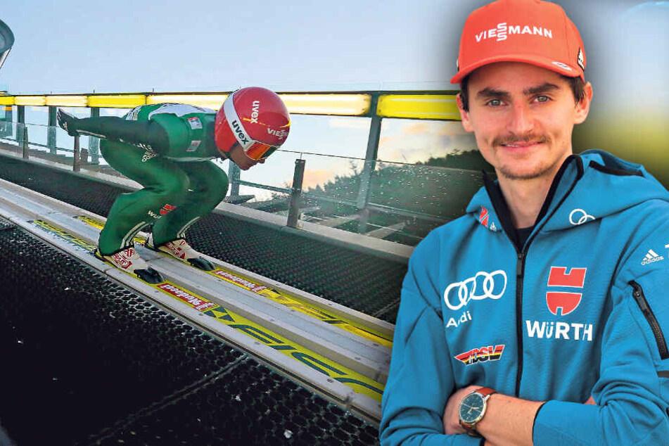 Sachsen-Adler Freitag sucht beim Weltcup in Klingenthal seine Form
