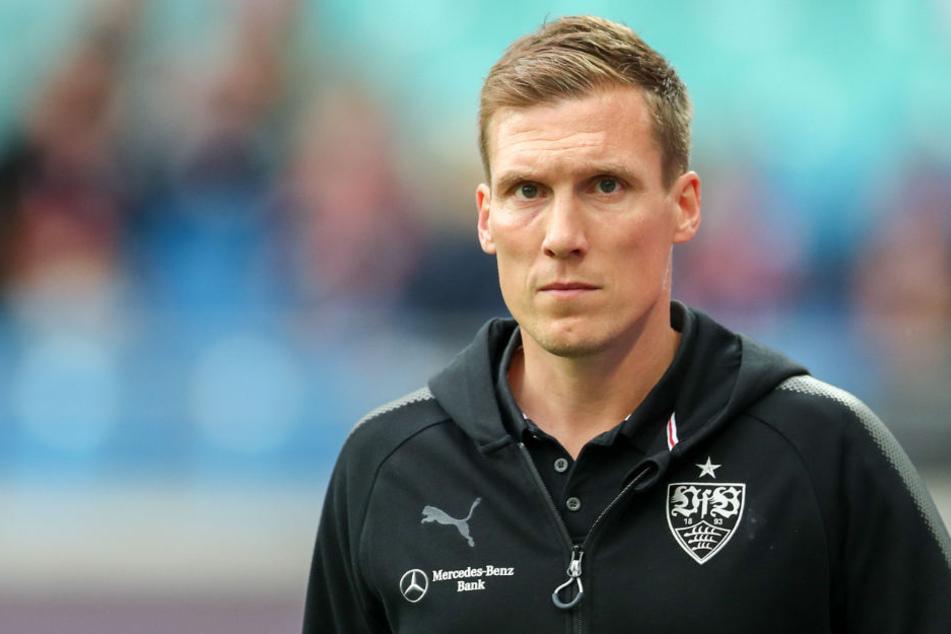 So eine Niederlagen-Serie gab es unter ihm noch nicht: VfB-Trainer Hannes Wolf.