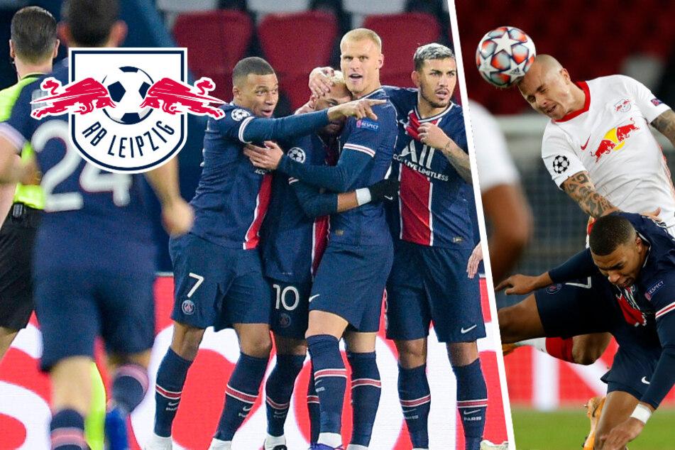 RB Leipzig verliert wichtiges Duell in Paris durch strittigen Elfmeter