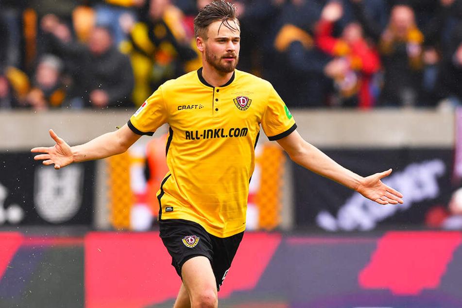 Schnappt sich der Hallesche FC Lucas Röser von Dynamo Dresden?