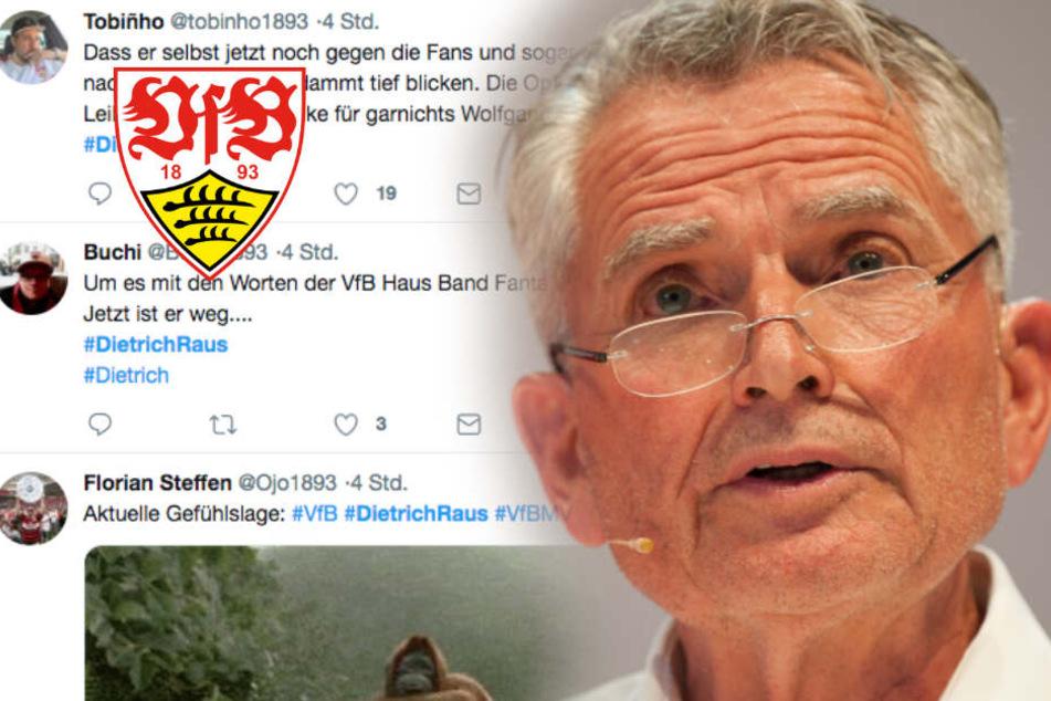 Nach Dietrich-Rücktritt: Haben VfB-Fans schon den nächsten auf dem Kieker?