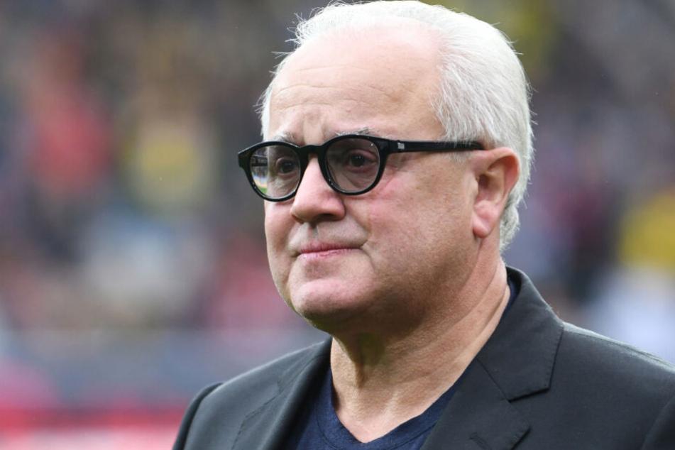 DFB-Präsident Fritz Keller wendete sich zusammen mit Rainer Koch und Ronny Zimmermann sowie Generalsekretär Friedrich Curtius an die Öffentlichkeit.