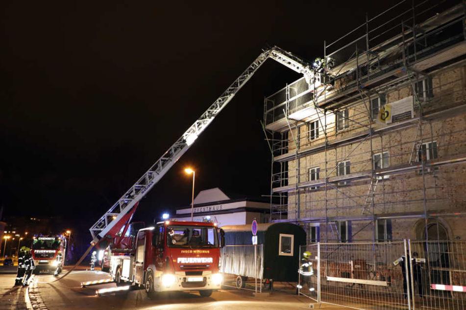 Ursache für Dachstuhlbrand in Chemnitz geklärt
