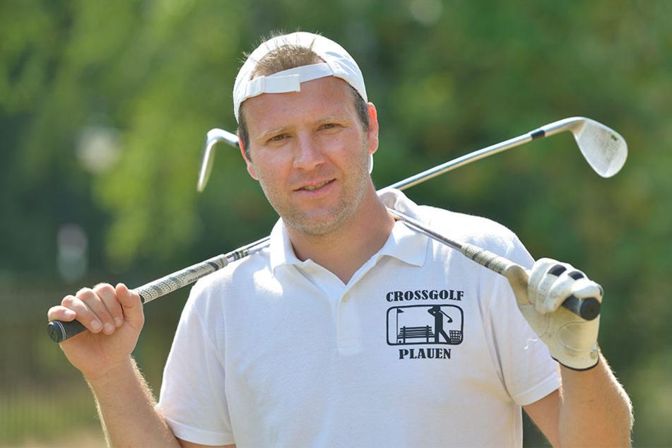 Der Vogtländer Sven Jacob (37) gewann die letzte Crossgolf-EM und holte die Quali nach Grünheide.