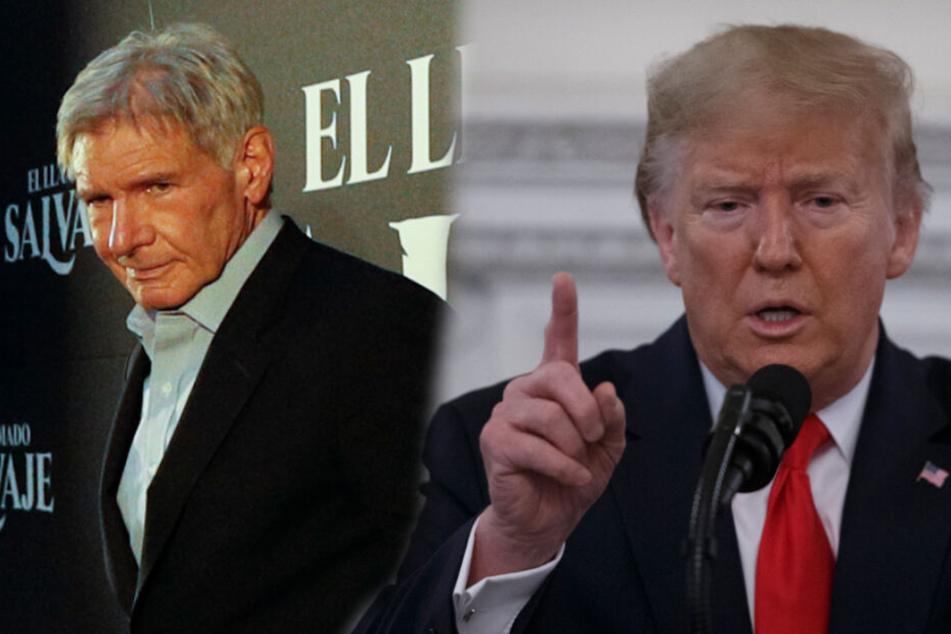 "Harrison Ford zieht über Donald Trump her: ""Son of a bitch"""