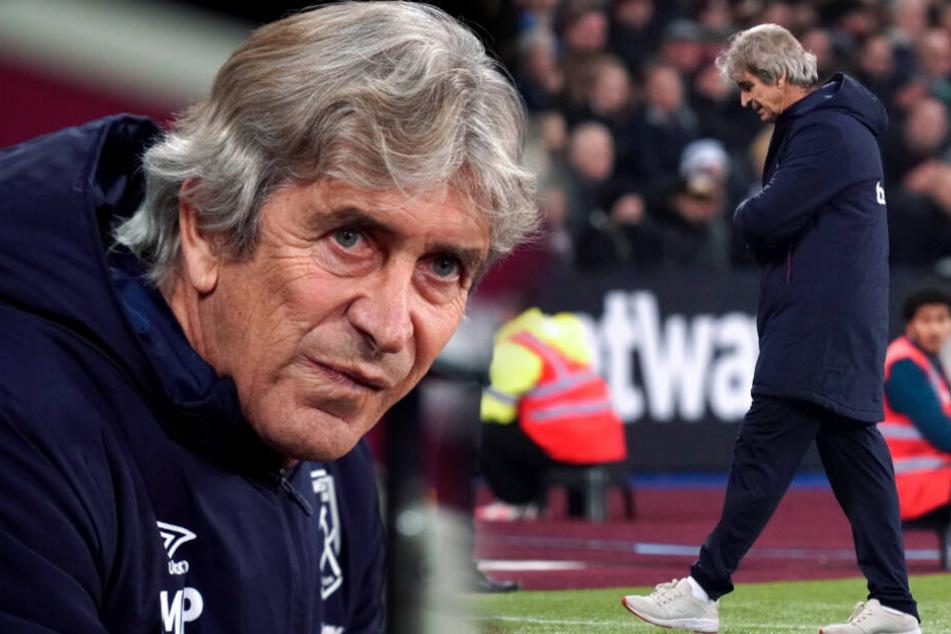 Trainer-Rauswurf bei West Ham United: Pellegrini muss gehen!