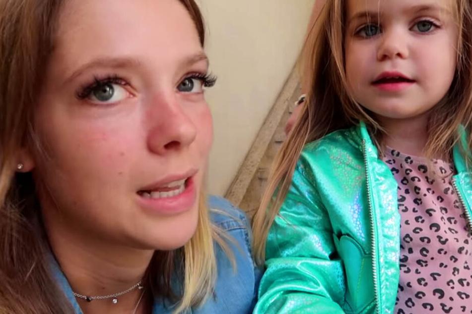 Auf YouTube spricht Anne Wünsche (28) über die Gesundheit ihrer Tochter Juna (3).
