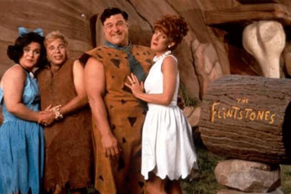 John Goodman, Elizabeth Perkins, Rick Moranis und Rosie O'Donnell im Realfilm von 1994.
