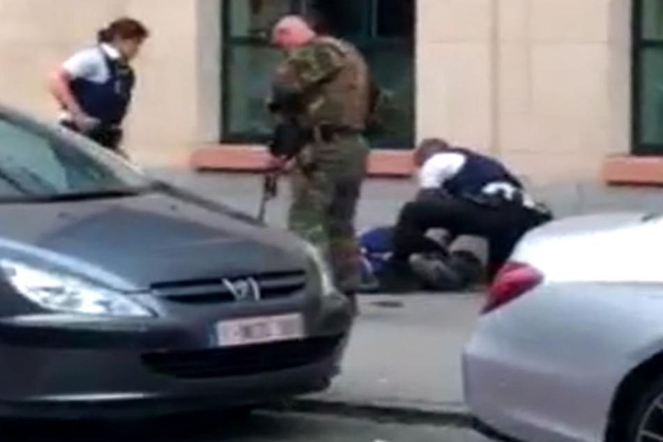 Mann nach Angriff auf Soldaten in Brüssel niedergeschossen