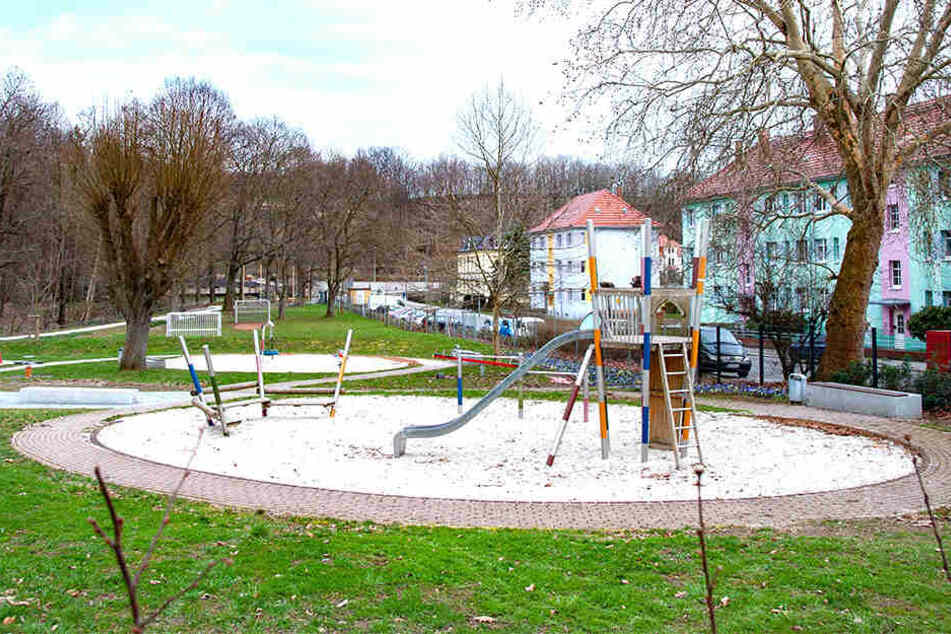 Wegen der Landesgartenschau: Der Spielplatz Hammertal kann seit Anfang des Jahres nicht mehr von jedermann genutzt werden.