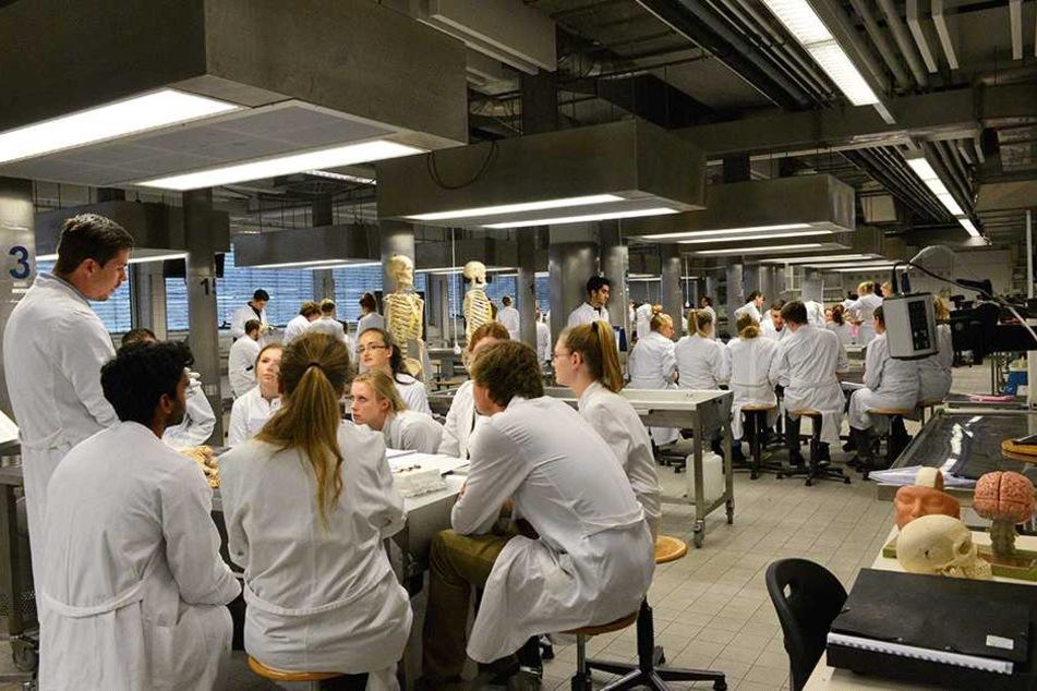 Die Medizin-Studenten der TU erlernen die Anatomie des Menschen jetzt mit  virtuellen und echten Leichen.