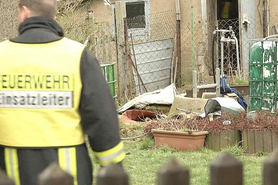 Offenbar war der 87-Jährige von der Leiter gefallen und in dem Brunnen gestorben.