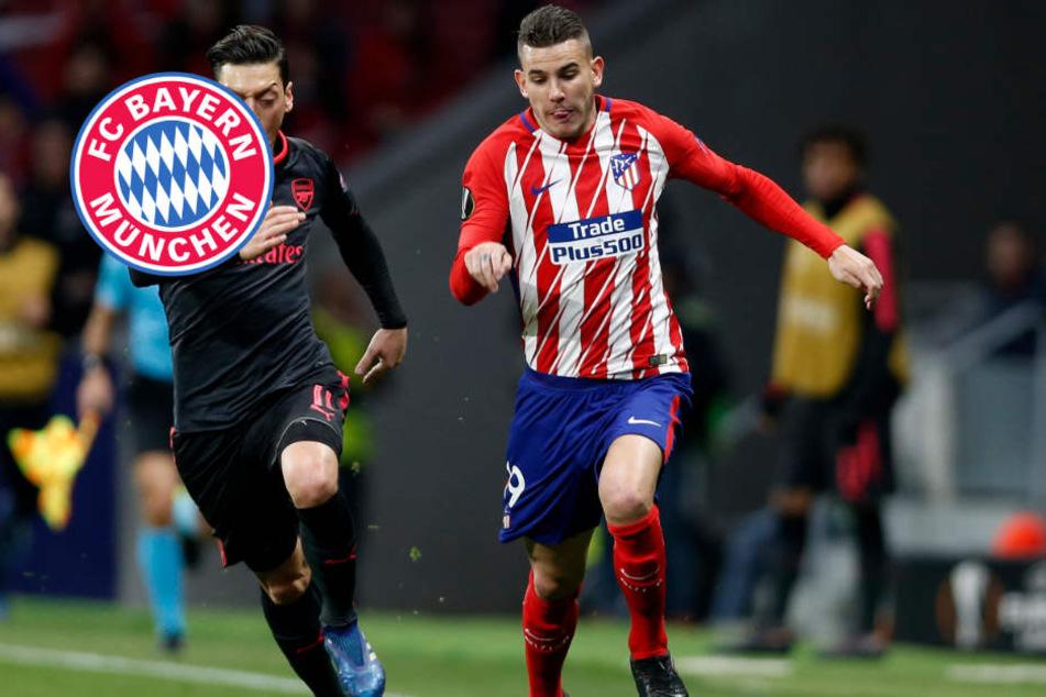 """""""Marca"""": FC Bayern verpflichtet Atléticos Lucas Hernández für Rekordsumme"""