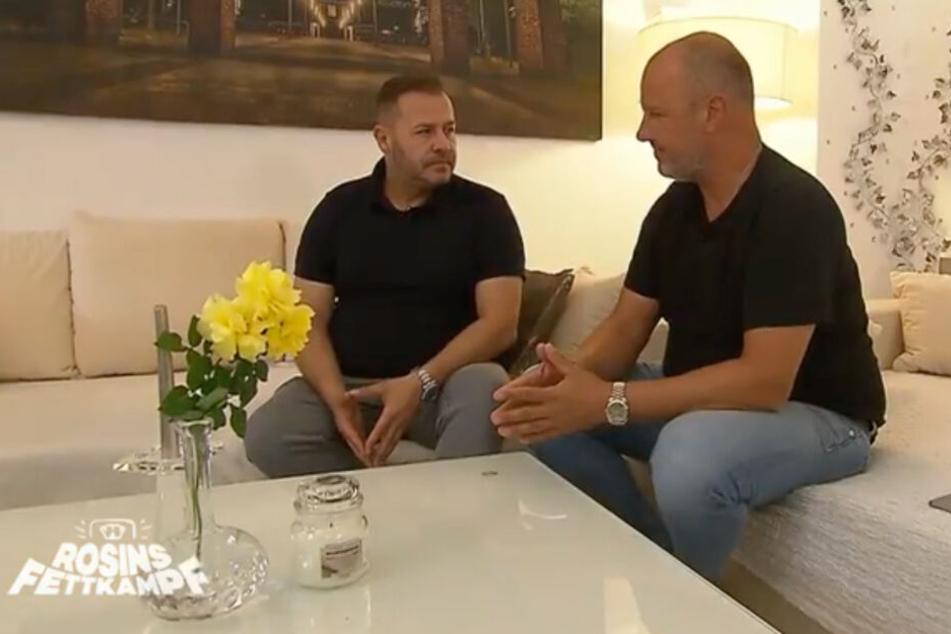 Frank Rosin (r.) nimmt sich Willi Herren zur Brust. Es geht um Drogen.