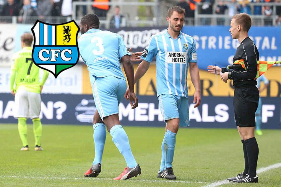 Zerrung!  CFC-Kapitän Conrad verpasst Pokalduell gegen FSV