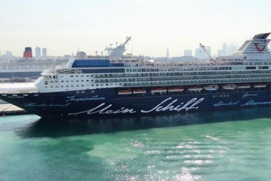 """Auch auf der """"Mein Schiff 2"""" war Fabian schon an Bord."""
