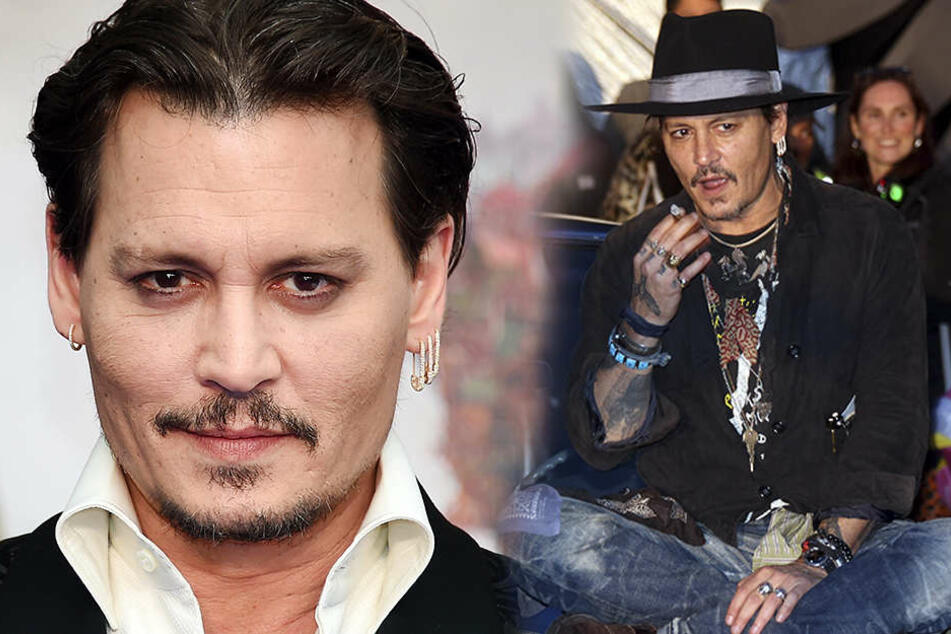 Großartiger Schauspieler, leider immer öfter mit schlechtem Benehmen: Johnny Depp.