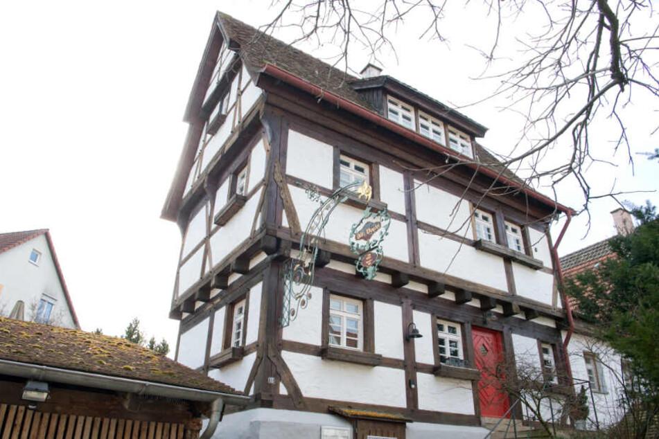 """Bereits seit Monaten geschlossen: Die """"Alte Vogtei""""."""