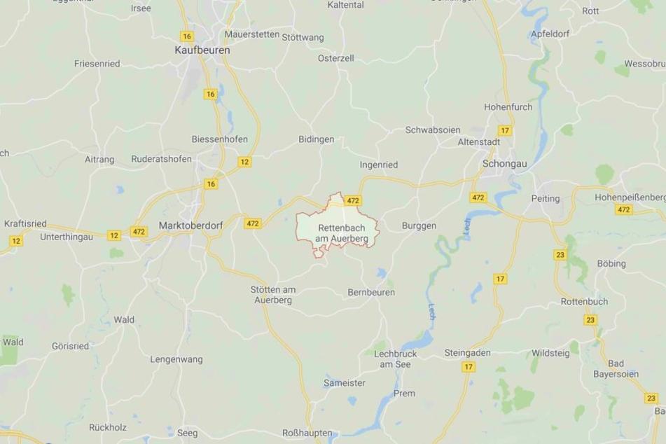 In Rettenbach am Auerberg im Ostallgäu kam es am Sonntag zu einer Explosion.